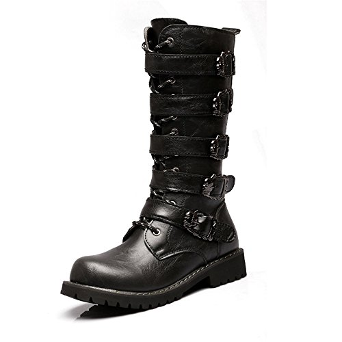 Retro Motorcycle Boots - 2
