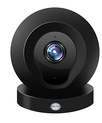 Sleuthgear Home Wi-Fi Monitoring and Security System - Camera has 2x zoom and night vision functionality - 1MP, 100 degree view camera len 30 FPS - Use with all smartphones -  KJB Security, WF1120