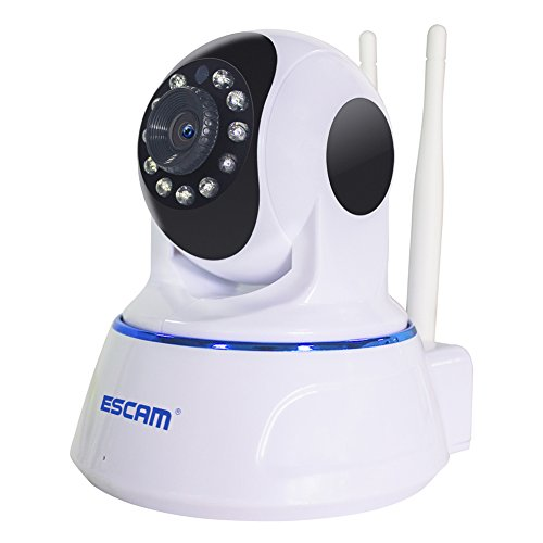 ESCAM QF003 1080P WIFI IP Camera Two MP Dual Antenna HD Pan/