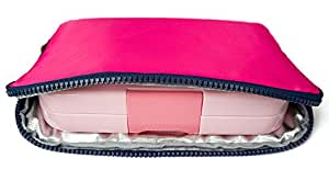 YUMBOX Poche - Insulated Sleeve Lunch bag (Magenta)