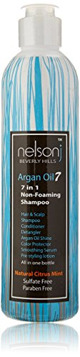 Nelson j Beverly Hills Argan Oil 7 Non-Foaming - Nelson.com
