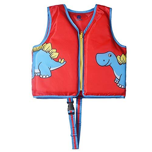 - Megartico Kids' Swim Vest Life Jacket Buoyancy Swimwear Unisex Swim Trainer Dinosaur Boys Adjustable Safety Strap Girls - Toddler Learn-to-Swim