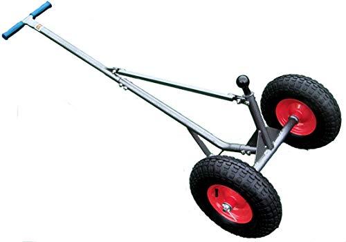 RA-20 Multi Use Pneumatic Wheeled Trailer Ball Dolly by Rack'em -