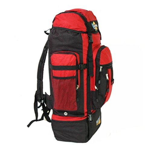 Karabar Reiserucksack Makalu, Größe L, 120 l Mehrfarbig schwarz/red