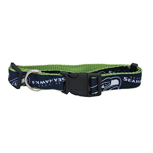 NFL Seattle Seahawks Team Pet Ribbon Collar, Medium