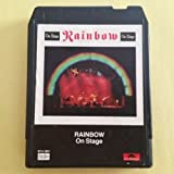 RAINBOW On Stage 8 Track Tape 1977 Oyster 8T 2 1801