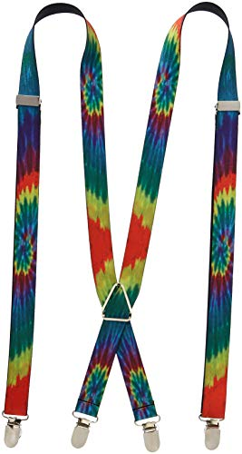 Buckle-Down Suspender - Tie Dye -