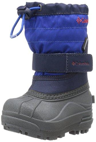 Columbia Toddler Powderbug Plus Winter Boot (Toddler), Collegiate Navy/Chili, 5 M US (Columbia Powderbug Winter Boot)