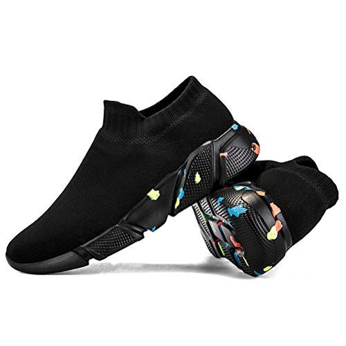 Shoes 45EU Sports Gym Outdoor Respirant de Noir Homme Running Chaussure Casual Fitness Chaussures Blanc Sport qf6tnv
