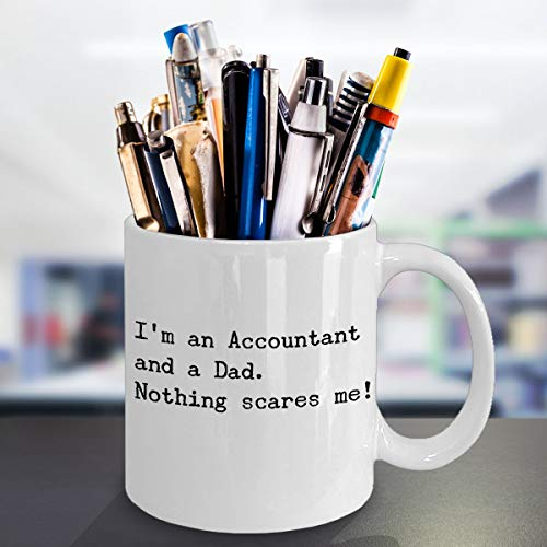 Funny Accountant Dad Coffee Mug Financial Advisor CPA Daddy Gift Father39s Day Birthday