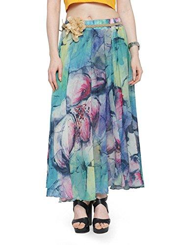 Pure Regular Long Fit Skirts Size Jaipuri Skirt Cotton Free N Fpq6nTw