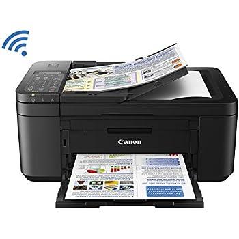 Canon PIXMA TR4527 Wireless Color Photo Printer with Scanner, Copier & Fax, Black