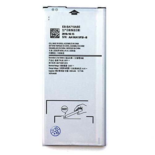 for Samsung Galaxy A7 2016 SM-A710 Replacement Battery EB-BA710ABE