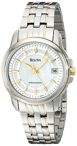 Bulova Women's 98M112 Precisionist Mother-of-Pearl Dial Watch