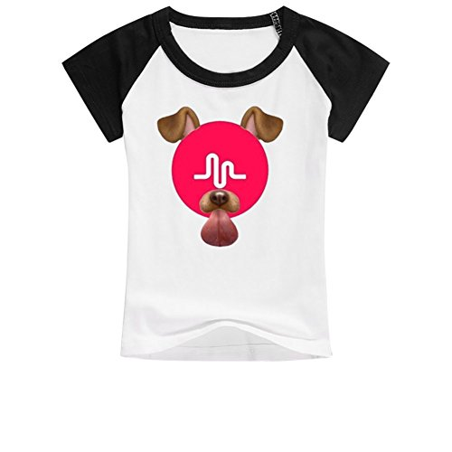 Little Girl Dog Tshirt - 1
