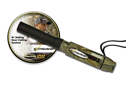 Extinguisher Deer Call (Realtree) w/ DVD Instructional (Sound Doe Bleat)