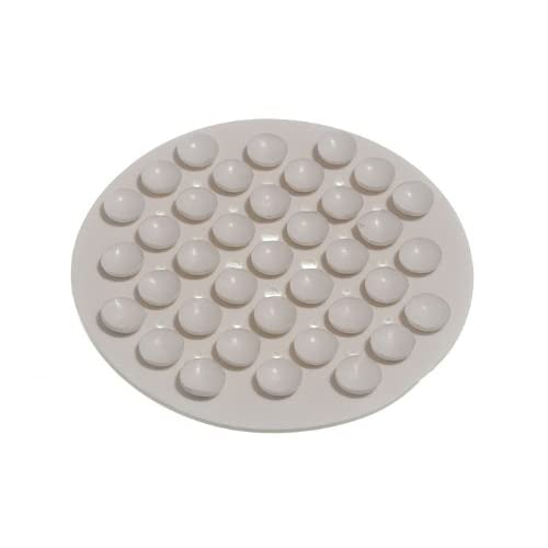 good SOAP HOLDER SUCTION GRIP IN WHITE RUBBER ( pack of 10 )