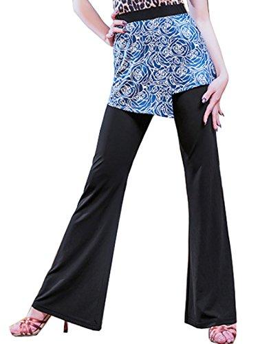 Azul Para Falda Mujer Plisado Chagme Hqzfw18