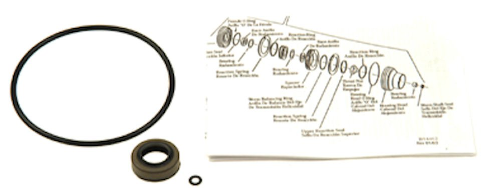 Edelmann 8553 Power Steering Gear Box Input Shaft Seal Kit