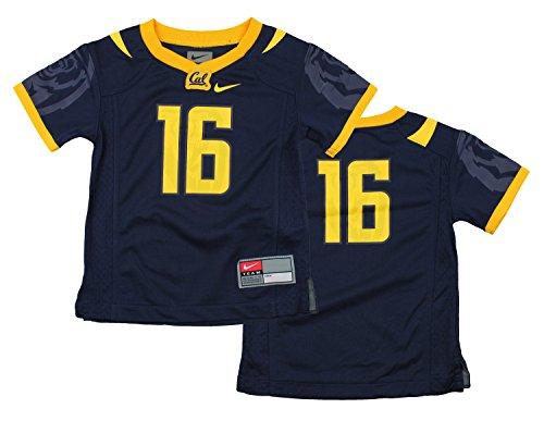 Nike NCAA Little Boys Toddlers California Golden Bears #16 Football Jersey, Navy