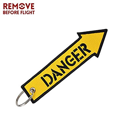 Amazon.com: Key Rings Wholesale Remove Before Flight ...