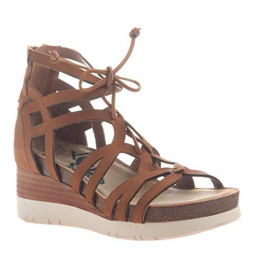 OTBT Women's Escapade Wedge Sandals - TAN - 10 M US