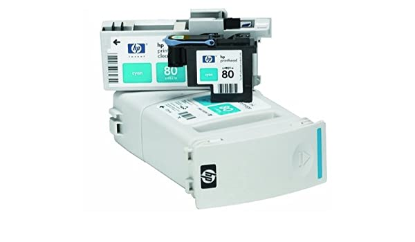 No 80 Printhead Cyan Dsnj 1050c 1055cm Plus Cabeza de Impresora ...