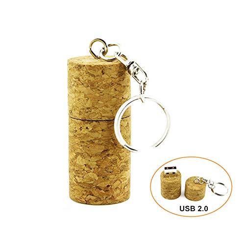 CHUYI Novelty Wood Wine Cork Shape Design 32GB USB 2.0 Flash