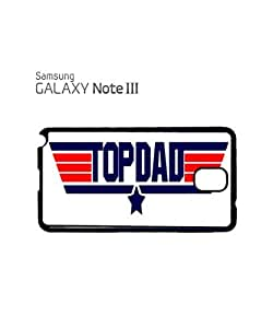 Top Dad Birthday Cool Mobile Cell Phone Case Samsung Note 3 Black