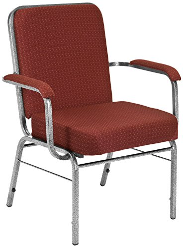 UPC 845123004050, OFM Big and Tall Comfort Class Series Fabric Arm Chair, Burgundy