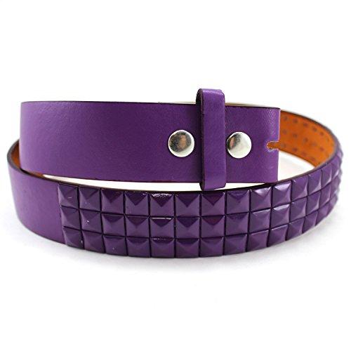 Purple Stud Belt - 4