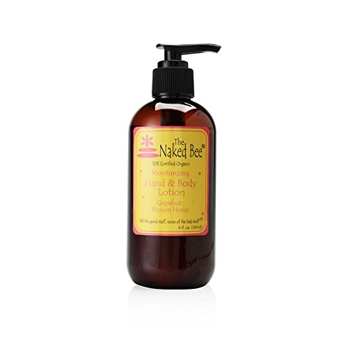 The Naked Bee Moisturizing Hand & Body Lotion, 8 Ounce, Grapefruit Blossom Honey by The Naked Bee