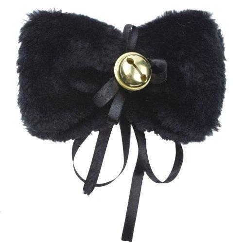 [niceeshop(TM) Cute Cat Halloween Cosplay Bow Cat Tie Collar For Fancy Dress Costumes,Black] (Cat Makeup Halloween)