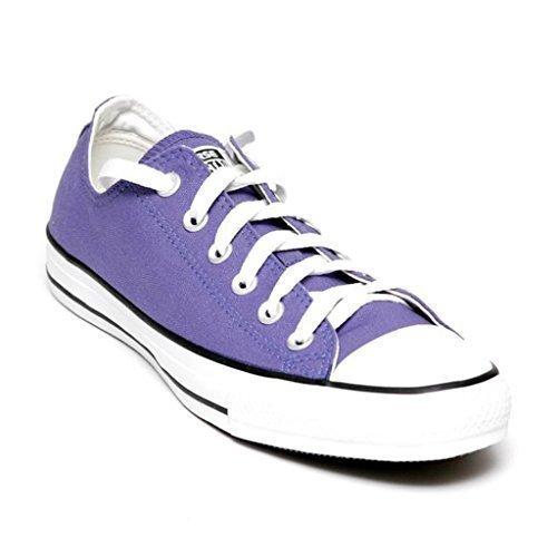 Converse Classic Chuck Taylor All Star - Hombres Mujeres Zapatillas bajas de lona moradas por Anandashop - Morado, Lona, 37: Amazon.es: Zapatos y ...