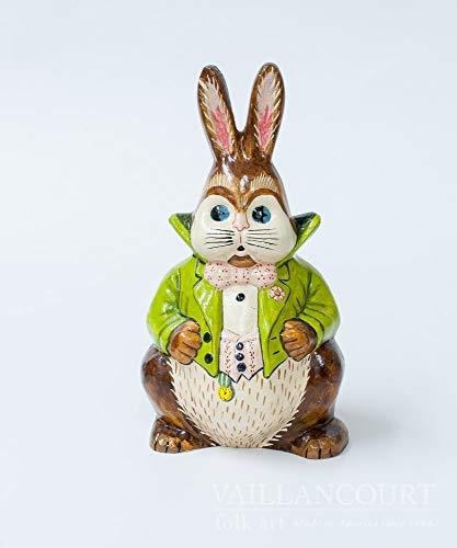 Vaillancourt Folk Art Waistcoat Rabbit