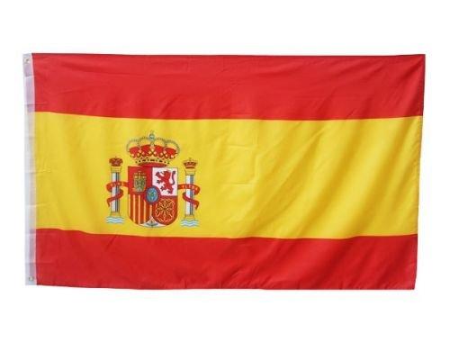 Bandera 90x 150cm | España Spain | con ojales Bandera Banderas banderines para izar Shop4you24h