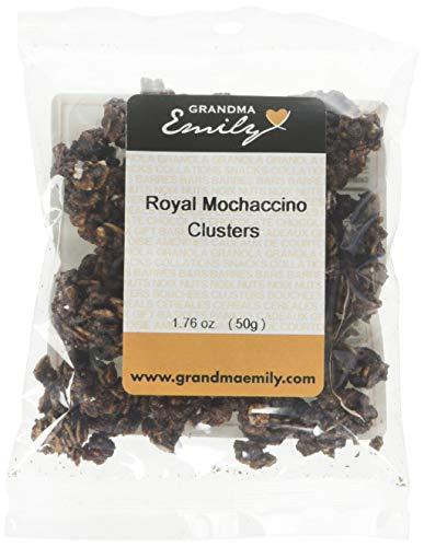 Grandma Emily Coffee Flavored Royal Mochaccino Granola Mini Snack Pack 1.76 oz (8 Pack)