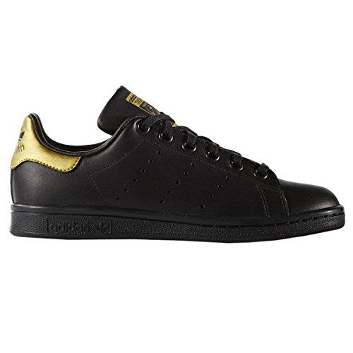 Basso Collo A Stan Schwarz Sneaker Bambini Smith Unisex Adidas ItXqq