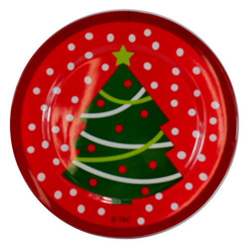 Snowman Decorative Plates - Dazzling Deals Decorative Christmas Tree Plate