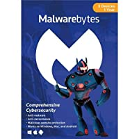 Malwarebytes Anti-Malware 3.0 5 Device 1 Year Key Card
