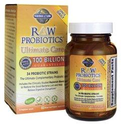 Raw probiotiques ultime Care-100 milliards de Garden of Life 30 VCAPS