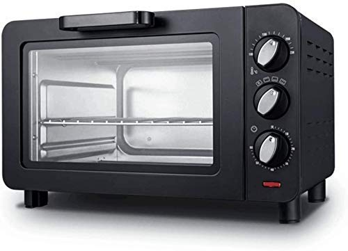 Home Furnishings Countertop Convection Toaster Oven Baking Pan Broil Rack Rotisserie Fork and Removable Crumb Tray Slice…