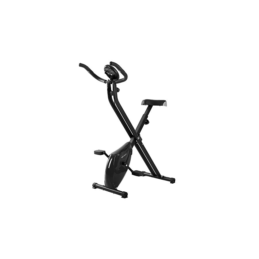 ANCHEER Indoor Magnetic Upright Exercise Bike