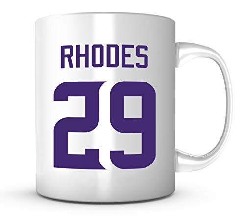Xavier Rhodes Mug - Minnesota Football Jersey Number 11 oz. Coffee Cup
