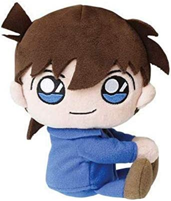 Detective Conan Kudo Shinichi 15cm character mini toy plush stuffed doll 39