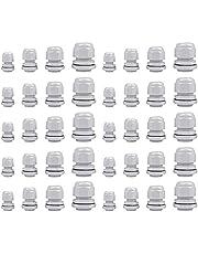 PhoenixDN 40 Stuks Kabelwartels, Kabelwartels Waterdicht, Waterdichte Kabelverbinders, Verstelbare Kabelwartels M12, M16, M18, M20, M25, M32, voor Kabelbevestiging.