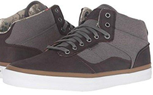 Vans Bedford Womens 10.5 / Mens 9 Desert Cowboy Asphalt White Fashion Sneaker ()