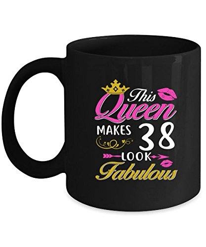 Image Unavailable Not Available For Color 38th Birthday Coffee Mug Women Cool Gift