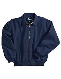 Men's Achiever Water Resistant Microfiber Poplin Shell Jacket (8 Colors, S-6XLT)