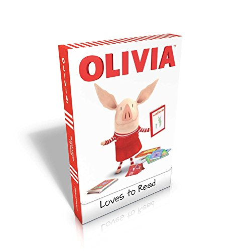 OLIVIA Loves to Read: Olivia Trains Her Cat; Olivia and Her Ducklings; Olivia Takes a Trip; Olivia and the Snow Day; Olivia Plants a Garden; Olivia Goes Camping (Olivia TV - Pigs Ties